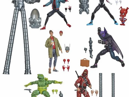 Spider-Man Marvel Legends 6-Inch Action Figures Wave 1 - Stilt-Man Series