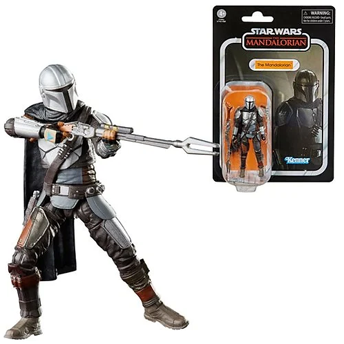 Star Wars The Vintage Collection The Mandalorian (Full Beskar) 3 3/4-Inch Action