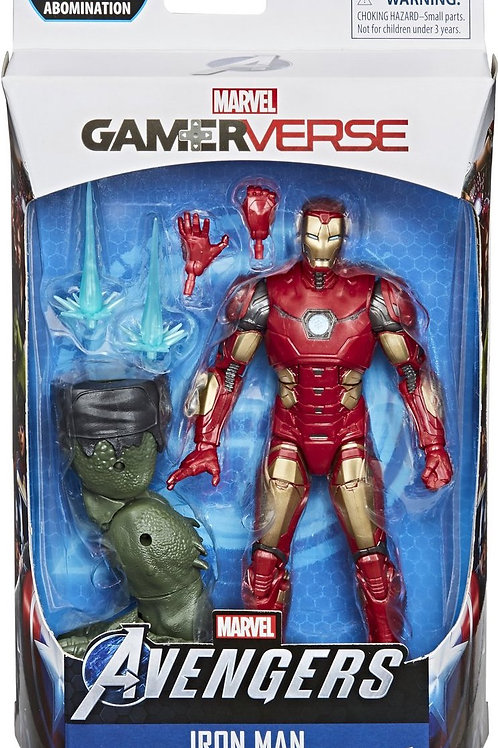 """Marvel Legends Avengers  Gameverse  Iron Man  with Abomination """"BAF"""