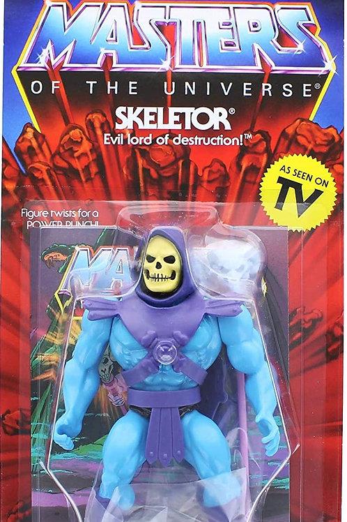 Masters of The Universe Vintage Skeletor Action Figure Standard