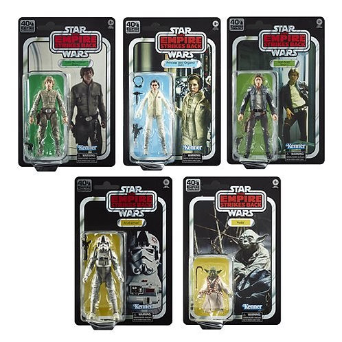 Star Wars The Black Series Empire Strikes Back 40th Anniversary 6-Inch Action Fi