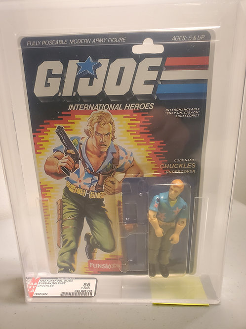 1992 Gi Joe Funskool Chuckles 85Y-NM+ Afa Graded