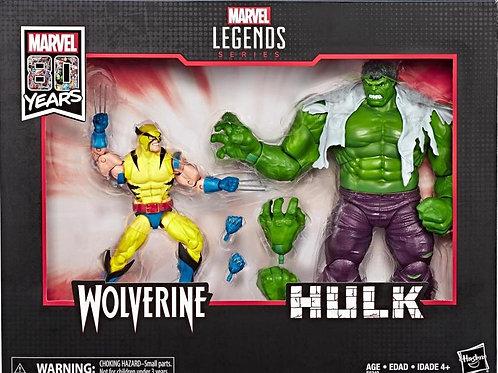 Marvel Legends Hulk vs Wolverine Two-Pack