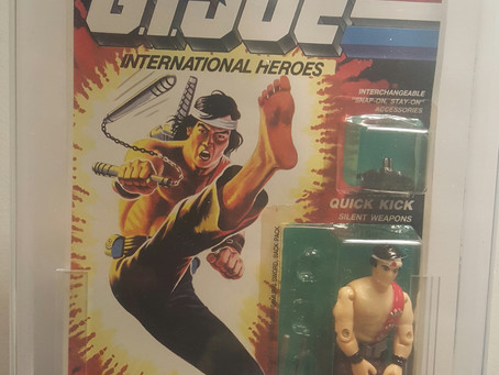 1992 Funskool Russian Release GI JOE  Quick Kick
