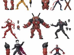 Venom Marvel Legends 6-Inch Action Figures Wave 1 Case -Pre Sold Out