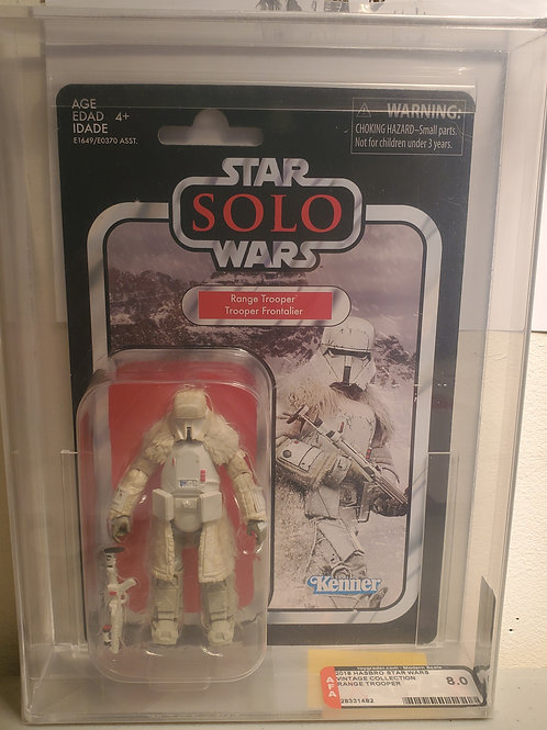 2018 Star Wars Vintage Collection VC128 Range Trooper AFA Graded 8.0