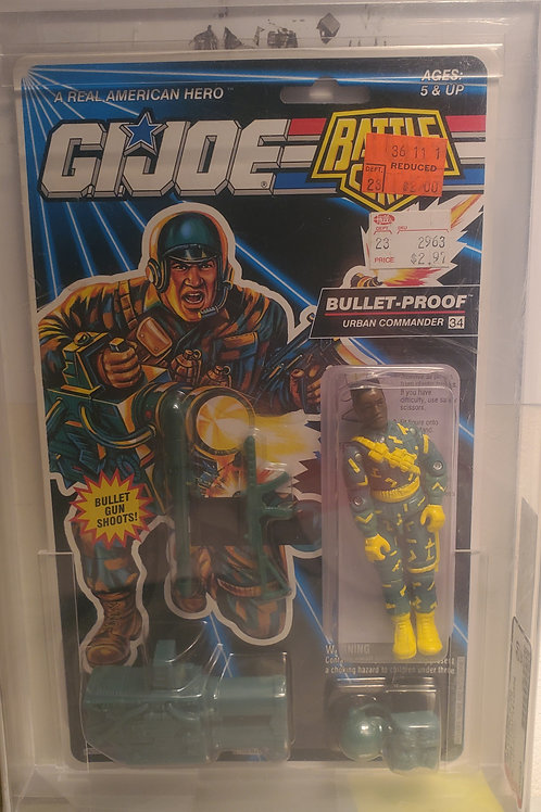 1993 G.I.Joe Series 12 Bullet-Proof 80NM AFA Graded
