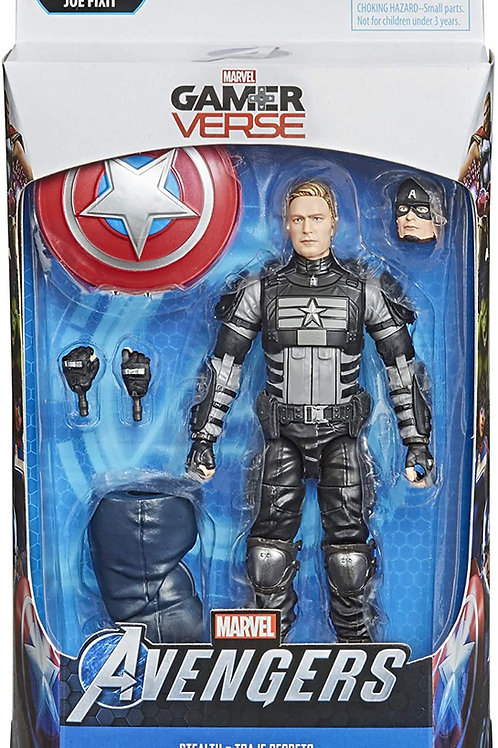 "Marvel Legends Avengers Video Game Stealth Captain America ""Joe Fixit BAF"""