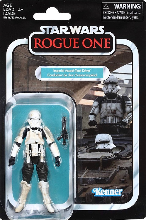 Star Wars The Vintage Collection Imperial Tank Driver Figure