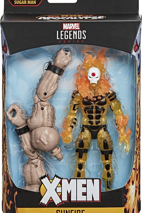 "X-Men: Age of Apocalypse Sunfire with Sugar Man ""BAF""."