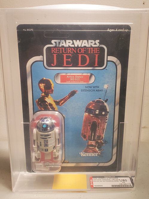 2004 Star Wars Vintage Original Trilogy R2-D2 U80NM