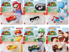 Hot Wheels Nintendo Character Cars 2021 Mix 1