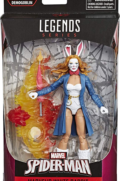 "Spider-Man Marvel Legends 6-Inch Wave 1  White Rabbit ""Demoglobin"