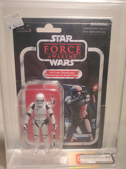 2018 Star Wars Vintage Collection VC118 First Order Stormtrooper 8.5 AFA Graded