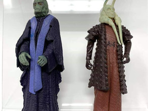 Star Wars Prototypes and First Shots