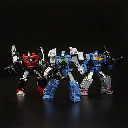 Transformers Generations War for Cybertron: Siege Deluxe Refraktor 3-Pack