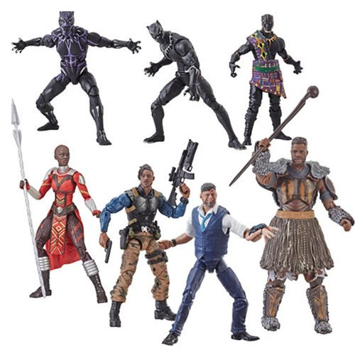 Black Panther Marvel Legends 6-Inch Action Figures Wave 2 -Allentown Toy Store and Comic Con