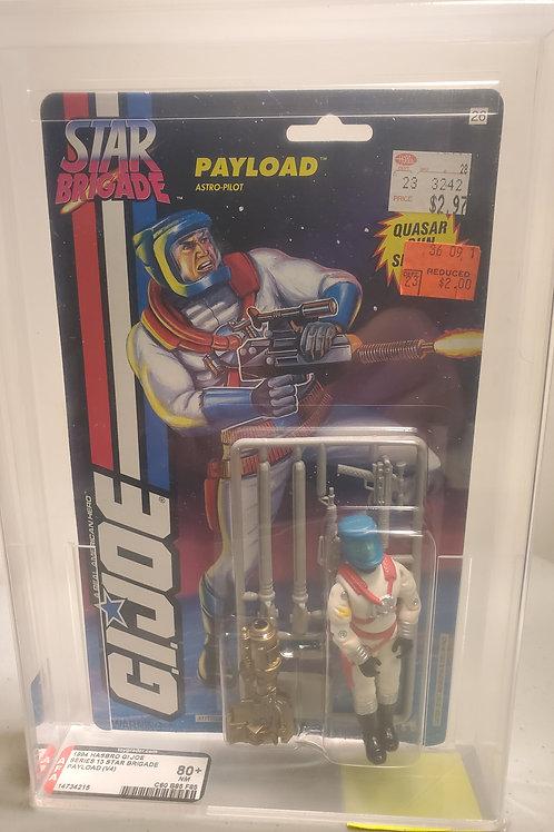 1994 G.I.Joe Series 13 Payolad (V4) 80NM+ AFA Graded