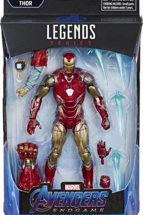 "Marvel Legends Avengers: Endgame Iron Man Mark LXXXV with Thor""BAF"""