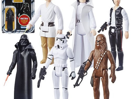 Star Wars The Retro Collection Action Figures Wave 1-Coming soon.. I Will be Keeping a Set of these.