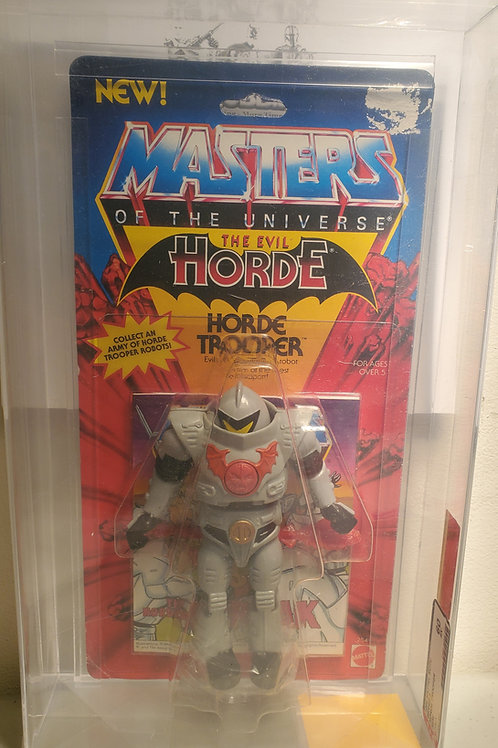 1985 Masters Of The Universe Horde Trooper AFA Graded