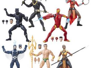 Black Panther Marvel Legends 6-Inch Action Figures Wave 1