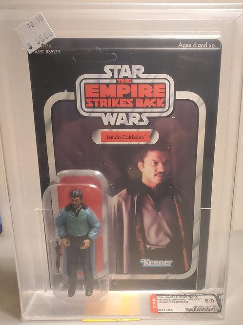 2004 Star Wars Vintage Original Trilogy Lando Calrissian 8.0 Afa Grade