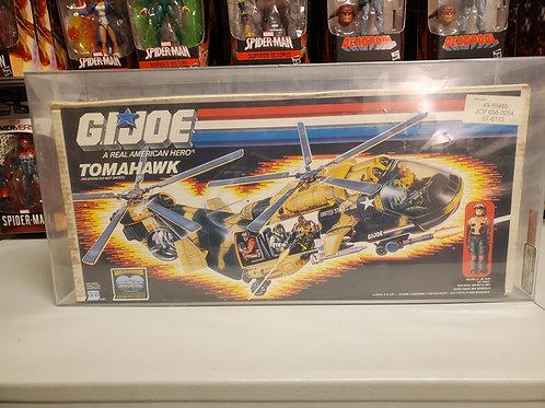 1986 G.I.Joe Series 5 Tomahawk Complete AFA Graded 70(Q-Ex+)