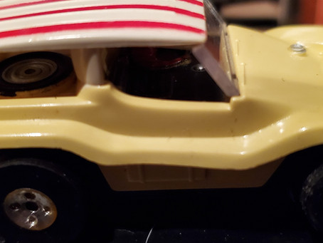 Aurora Model Motoring  Thunderjet Dune Buggy HO Slot Car