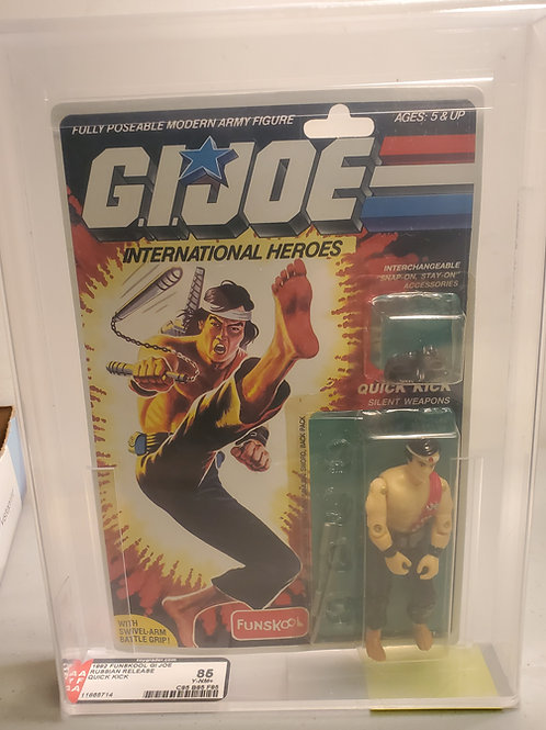 1992 Gi Joe Funskool Quick Kick  85Y-NM+ Afa Graded