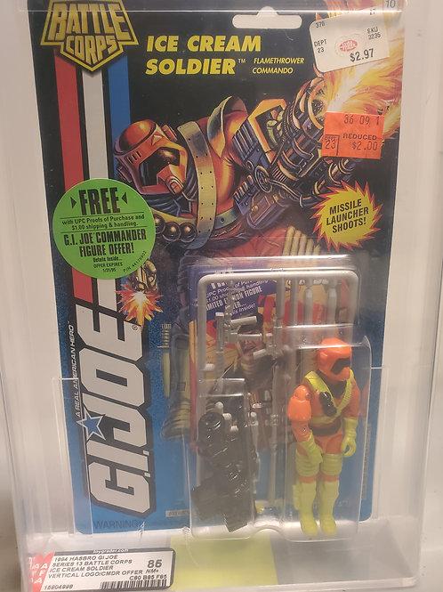 1994 G.I Joe Series 13 Muskrat  85+NM AFA Graded