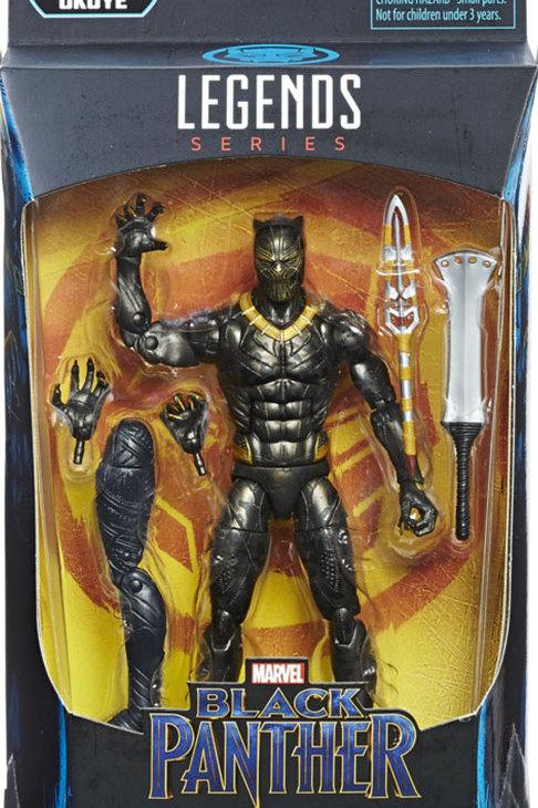 """Marvel Legends Black Panther Erik Killmonger with Okoye """"BAF"""""""