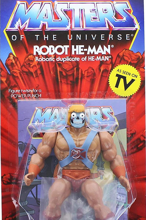Super7 Masters of The Universe Vintage Collection Wave 2 | Robot He-Man