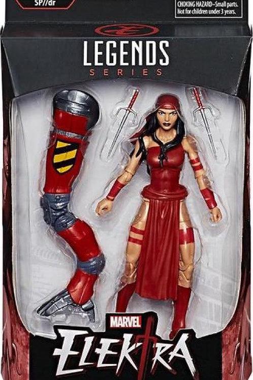 """Spiderman: Marvel Legends Elektra with SP//dr """"BAF """"wave"""