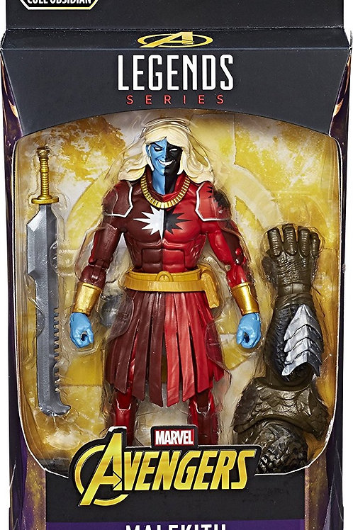 "Marvel Legends Avengers Infinity War  Malekith  Cull  Obsidian ""BAF"