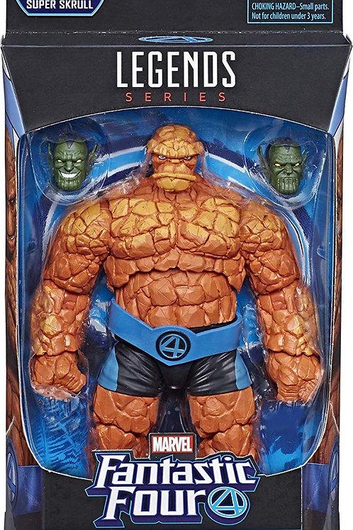 """Fantastic Four Marvel Legends   Thing """"Super Skrull """"BAF"""