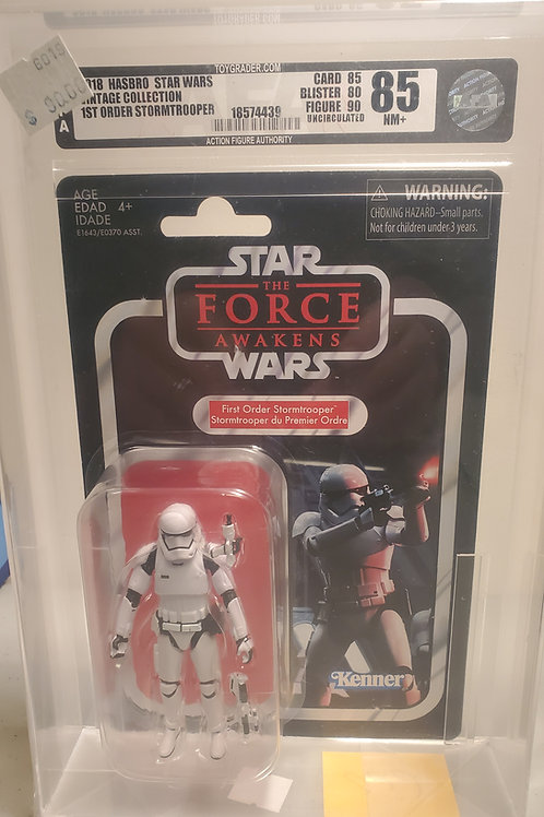 2018 Star Wars Vintage Collection VC118 First Order Stormtrooper 85NM+U AFA