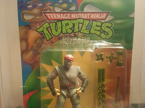 1992 Playmates TMNT 43 Back Movie Star Foot Soldier 80NM Unpunched