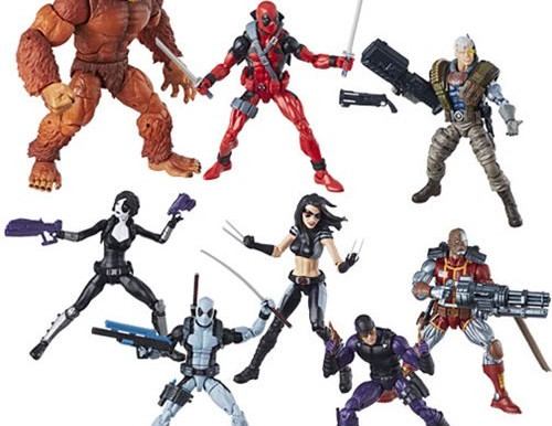 Deadpool Marvel Legends 6-Inch Action Figures Wave 1