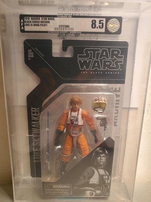 2019 Star Wars Archive Black Series Luke Skywalker AFA 8.5 Graded
