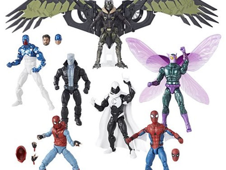 Amazing Spider-Man Marvel Legends Figures Wave 8 Vulture BAF
