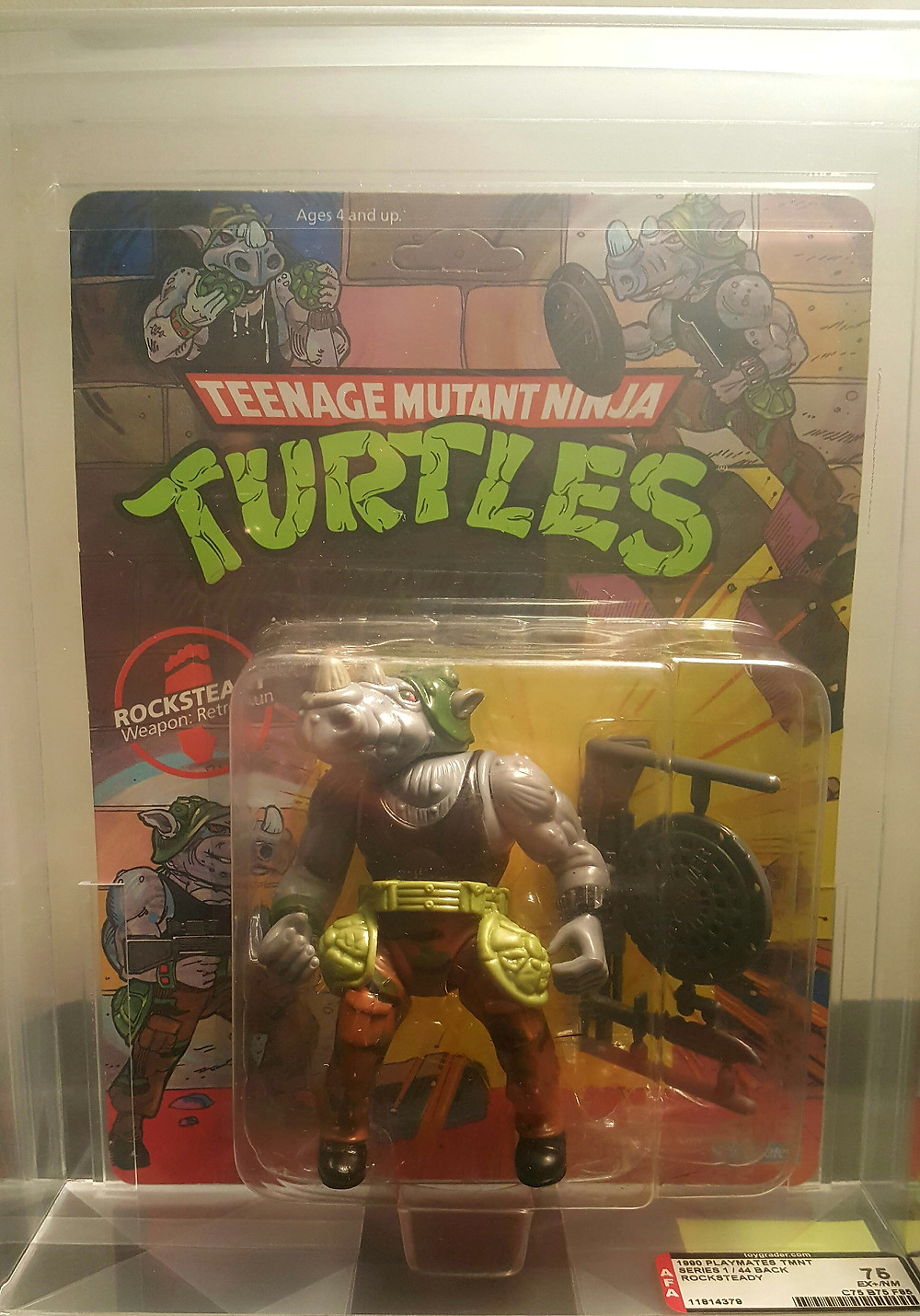 1990 Rocksteady TMNT and more Vintage MOC Figures Http://www.valleygoto.com