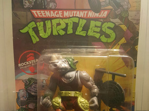1990  TMNT 44  Back  AFA Graded 75EX+NM Unpunched Rocksteady Unpunched