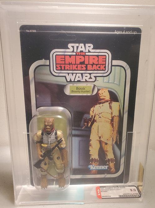 2007 Star Wars Vintage Saga Bossk 9.0 AFA Graded