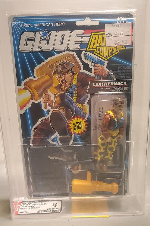 1993 G.I.Joe Series 12 Leatherneck 80NM AFA Graded
