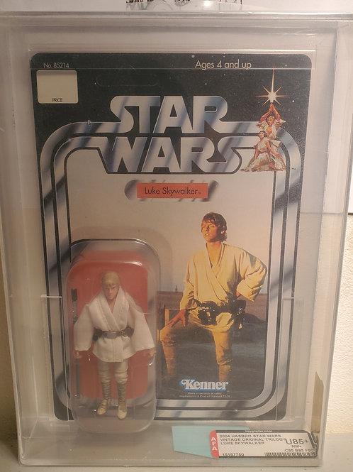 2004 Star Wars Vintage Original Trilogy Luke Skywalker  U85NM+ Afa Graded