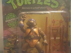 1988 Playmates TMNT 10 Back  AFA Graded 70EX+ Donatello Series 1 Unpunched