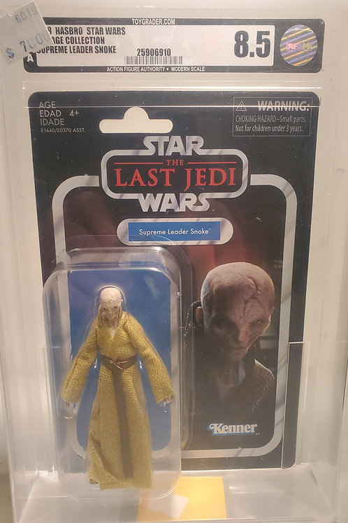 2018 Star Wars Vintage Collection VC121 Supreme Leader Snoke 8.5 AFA Graded