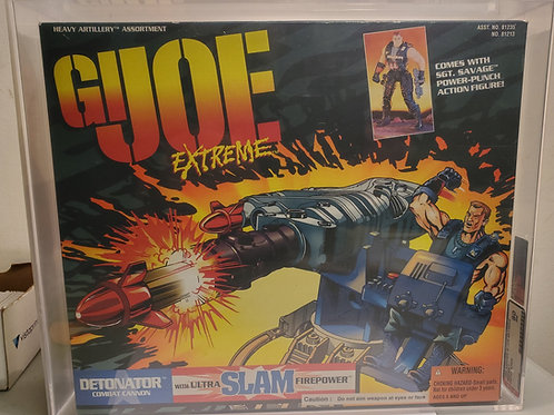 1995 Kenner GI Joe Extreme Series 1 Detonator 80NM Afa Graded