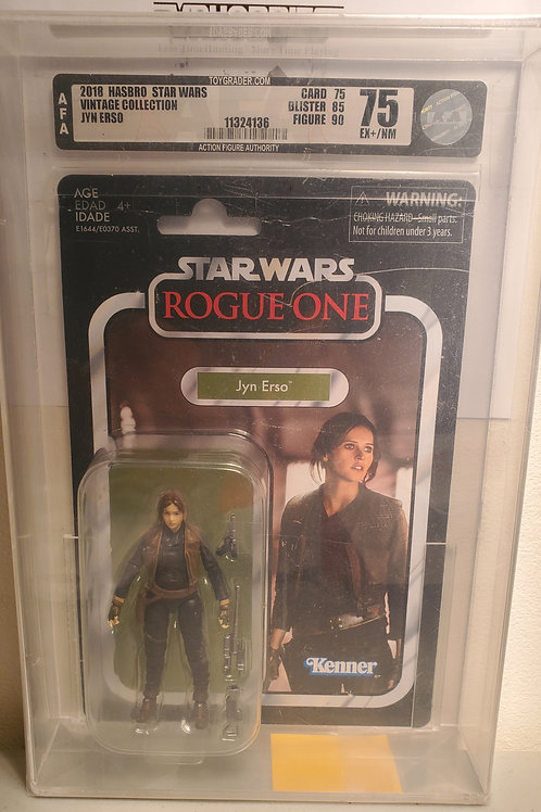 2018 Star Wars Vintage Collection VC119 Jyn Erso 9.0AFA Graded